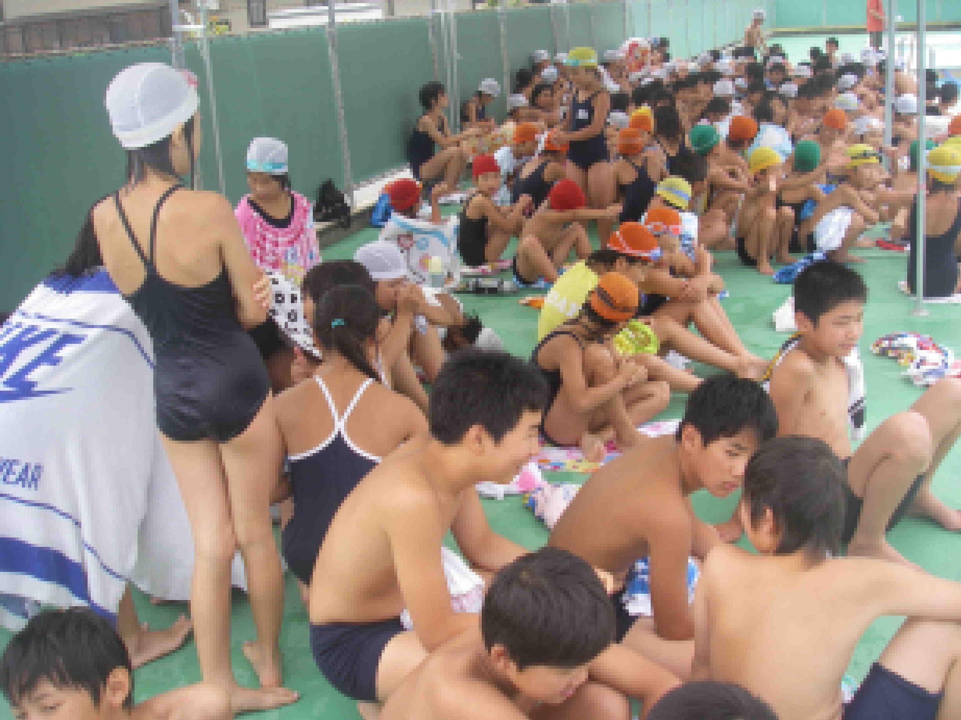 西小アルバム-西地区水泳記録会